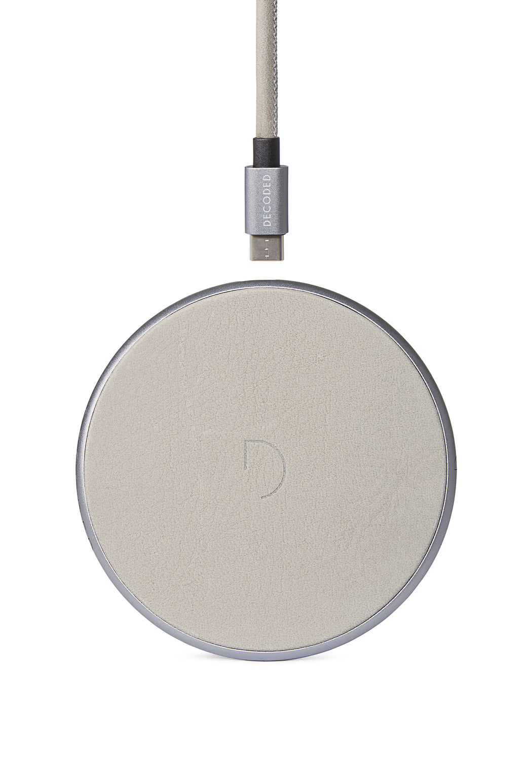 FastPad Wireless Charger Stone Grey / Silver-FastPad Wireless Charger-Decoded Bags