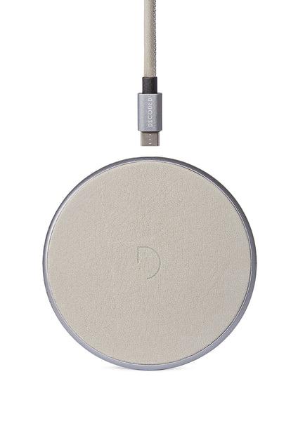 FastPad Wireless Charger Stone Grey / Silver