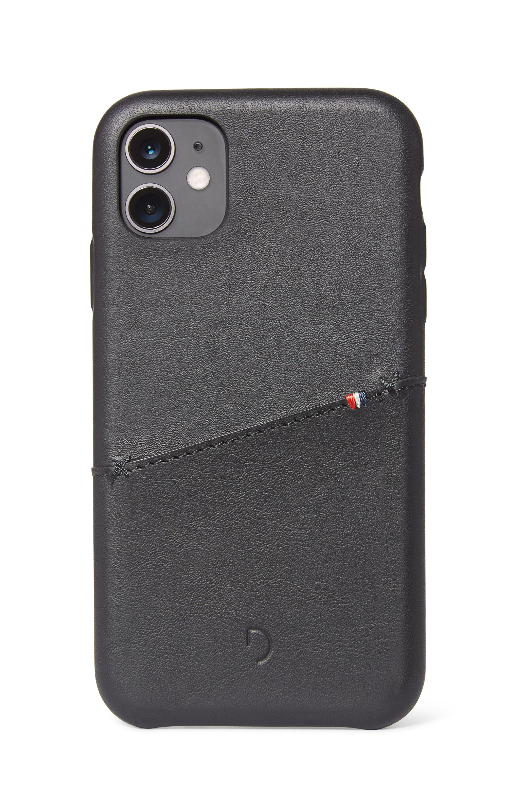 Back Cover Card Case Black - iPhone 11