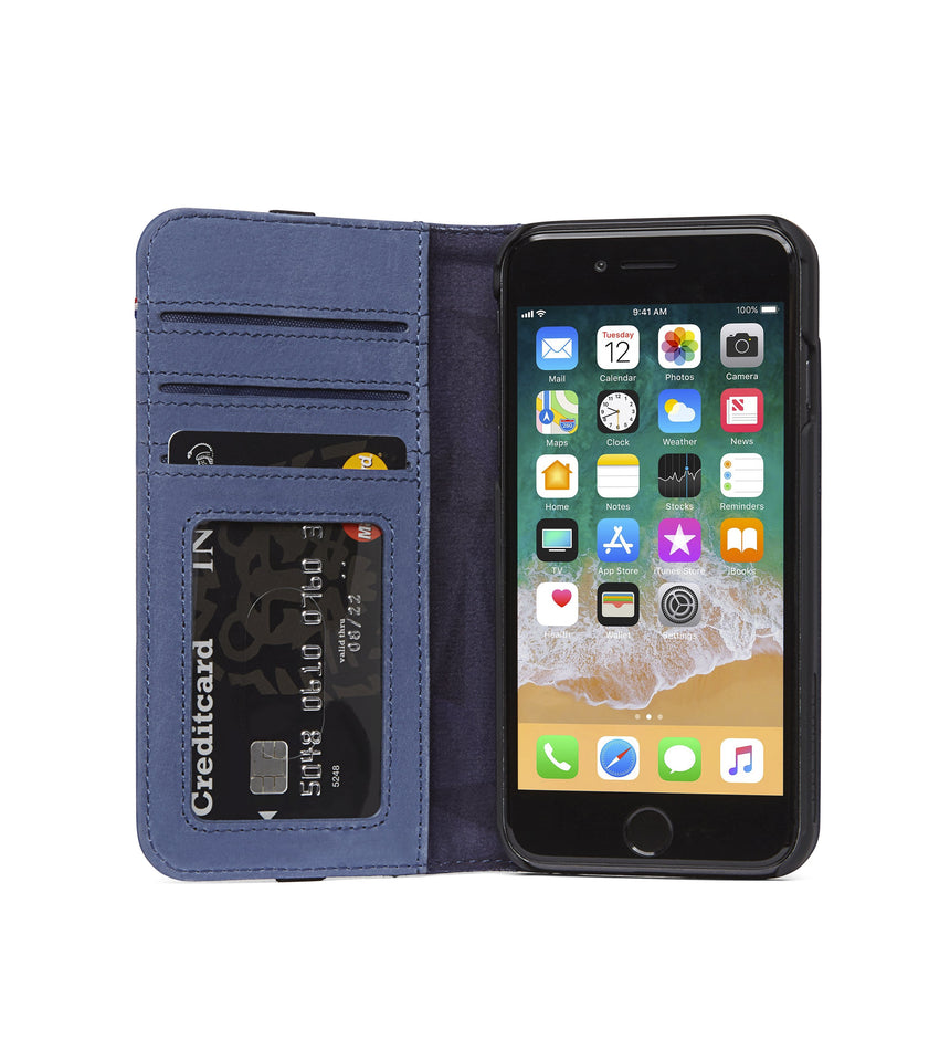 Wallet Case Light Blue - iPhone 6s Plus / 6 Plus-Wallet Case-Decoded Bags