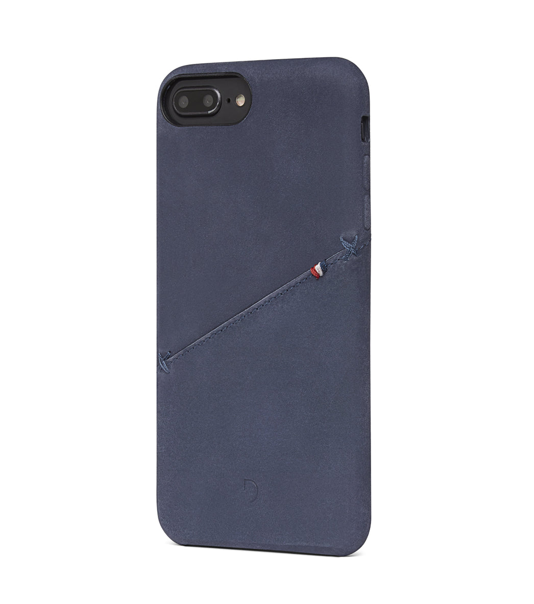 Back Cover Card Case Navy - iPhone 8 Plus