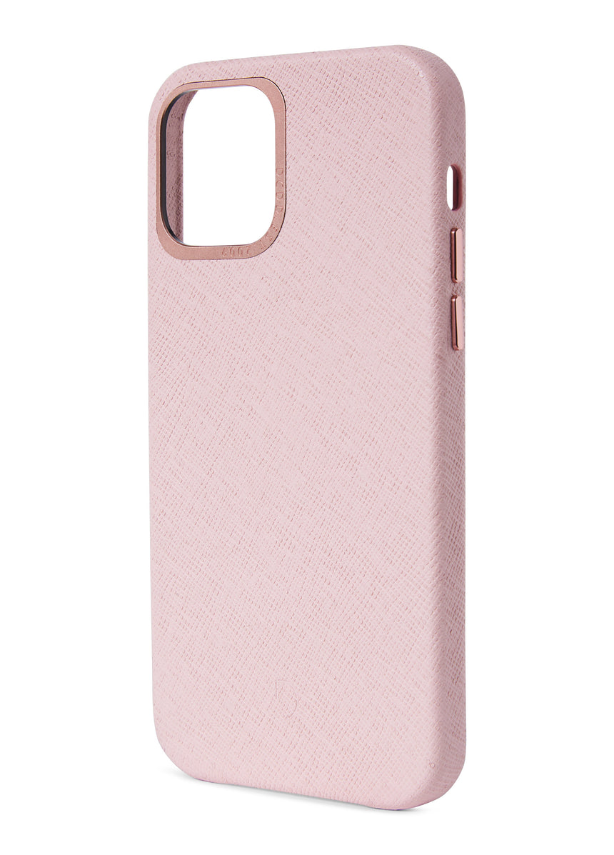 Back Cover Silver Pink - iPhone 12-Back Cover-Decoded Bags