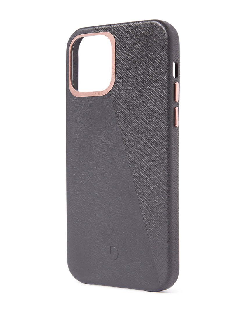 Back Cover Split Anthracite - iPhone 12 Pro-Back Cover-Decoded Bags