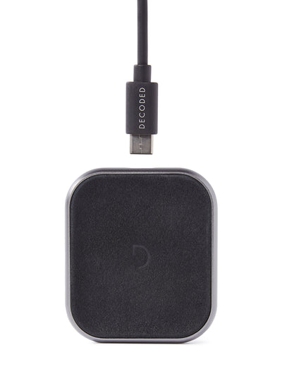 FastPad Mini Wireless Charger Black-Apple Watch Charger-Decoded Bags