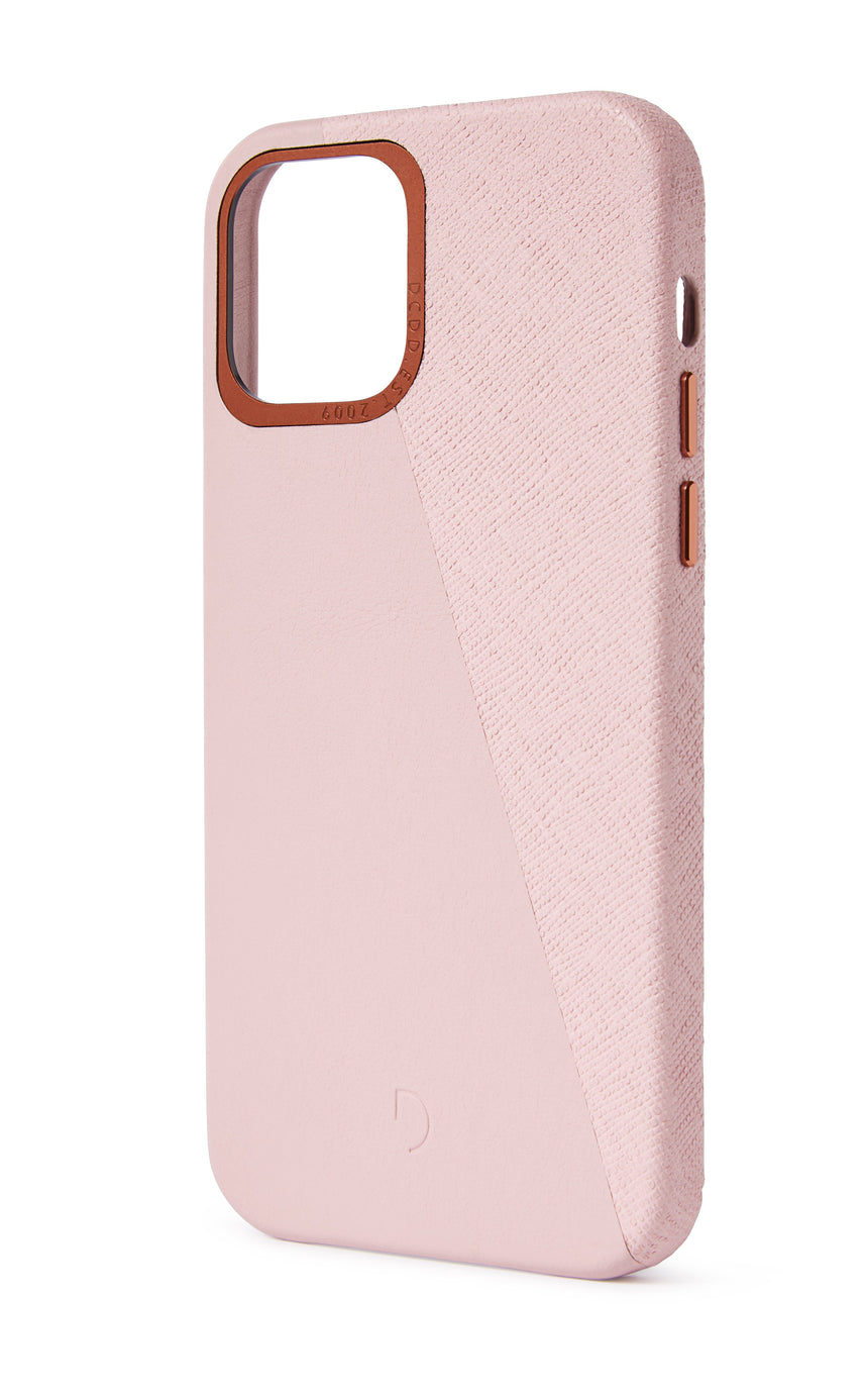 Back Cover Split Silver Pink - iPhone 12