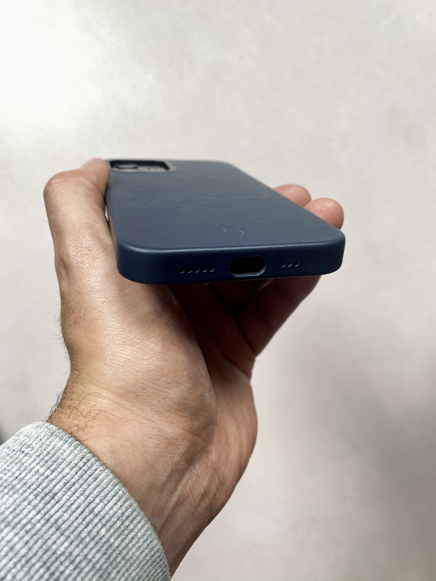 Back Cover Navy - iPhone 12 Mini Magsafe
