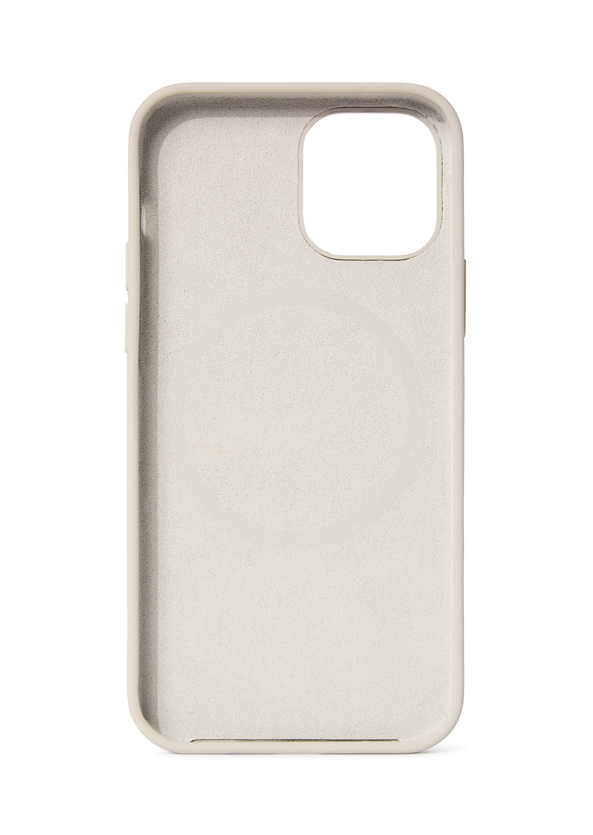 DECODED Back Cover Silicone Clay iPhone 12 Pro compatible with MagsSafe