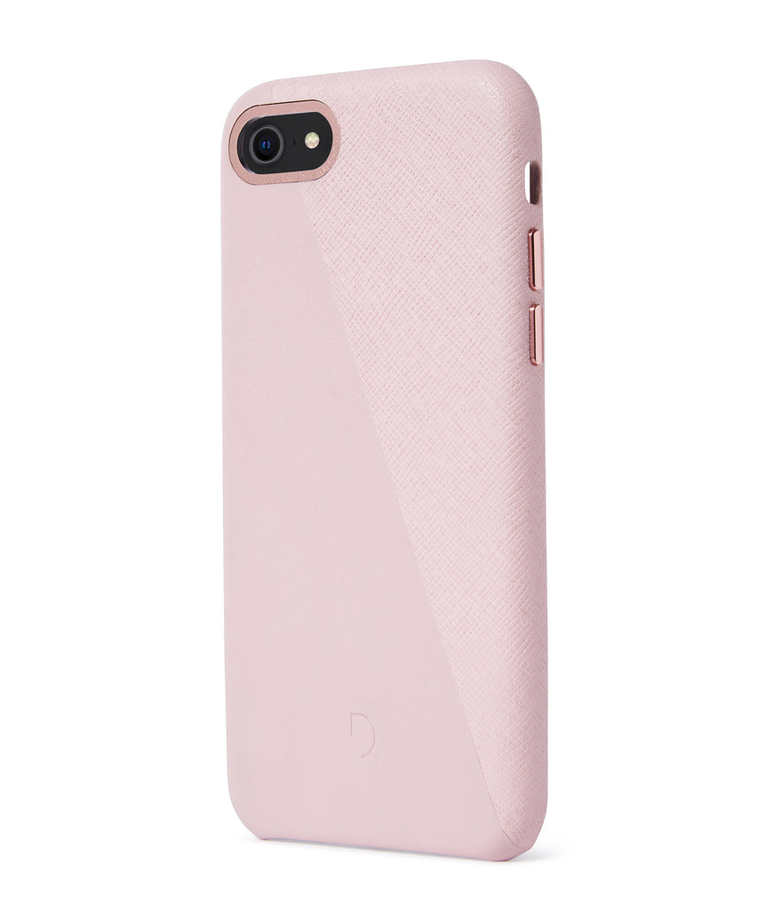 Back Cover Split Silver Pink / Rose Gold - iPhone 7-Back Cover-Decoded Bags