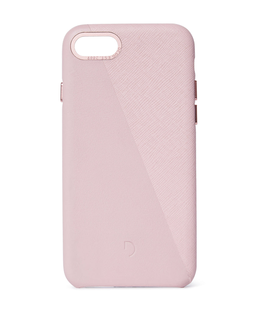 Back Cover Split Silver Pink / Rose Gold - iPhone 8-Back Cover-Decoded Bags