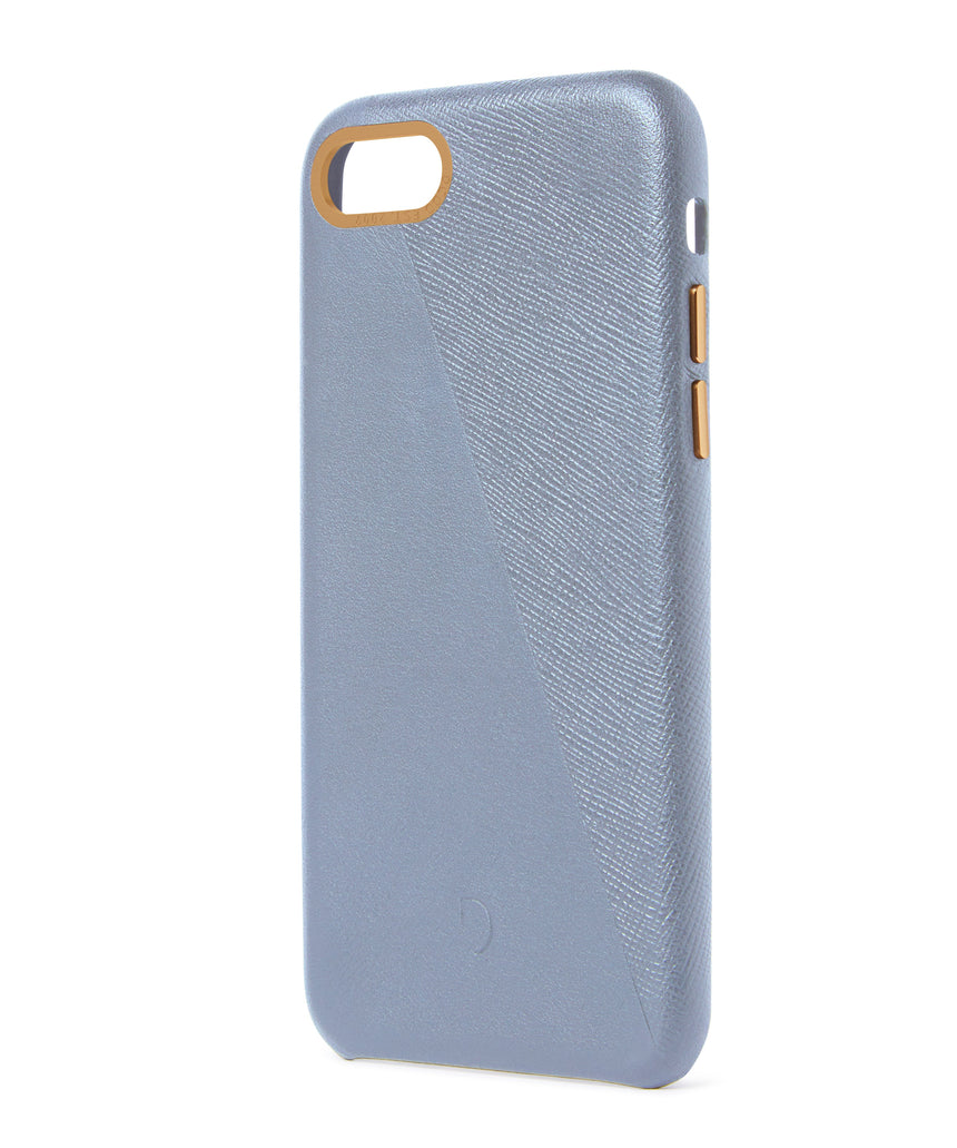 Back Cover Split Ash Blue - iPhone 8-Back Cover-Decoded Bags