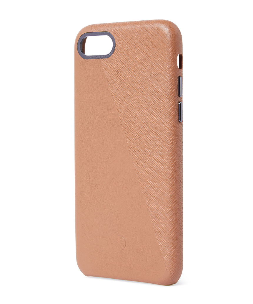 Back Cover Split Terracotta / Space Grey - iPhone 8-Back Cover-Decoded Bags
