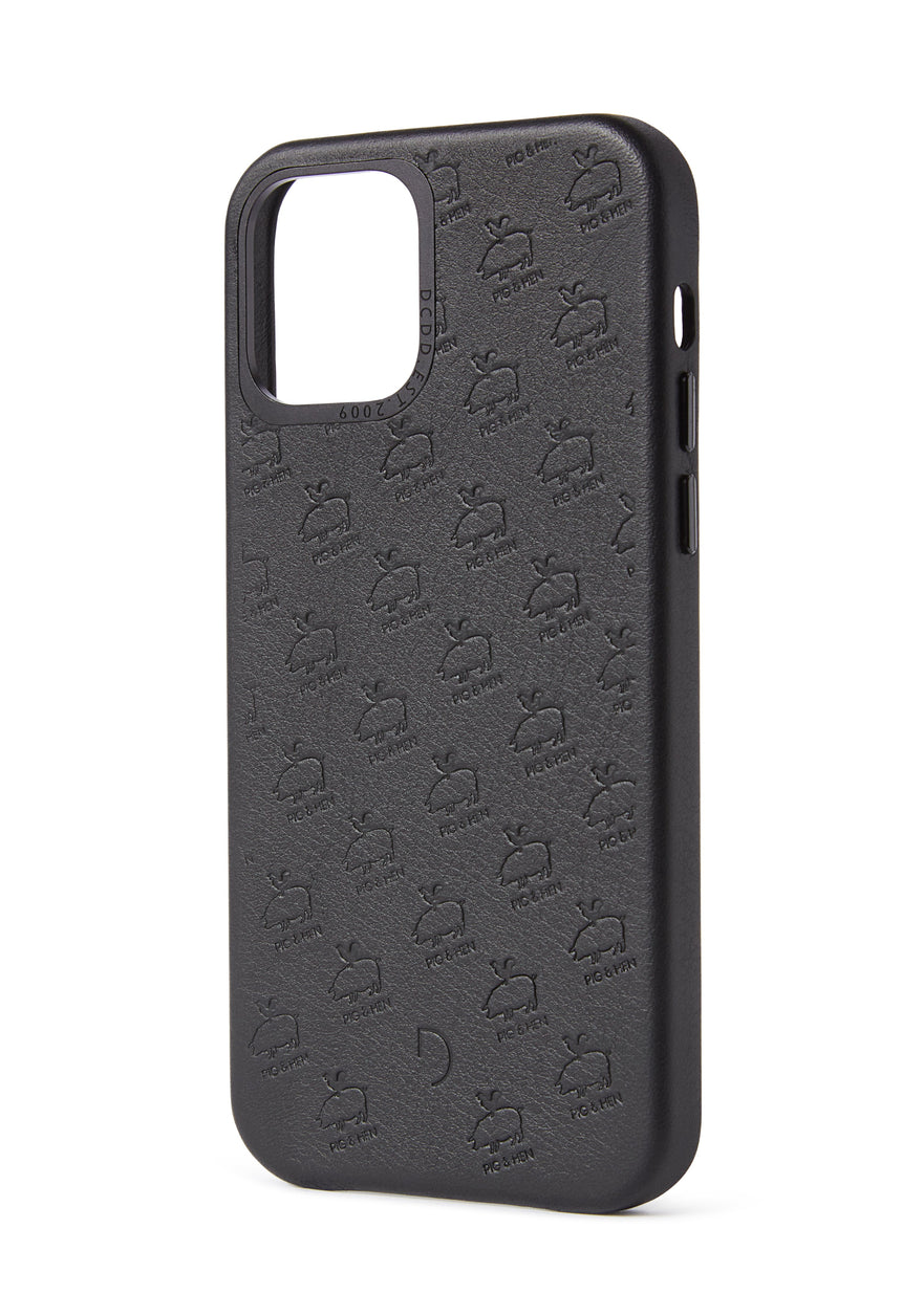 Back Cover x Pig & Hen Black - iPhone 12 Pro