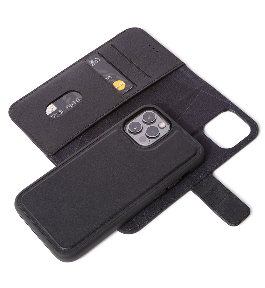 Detachable Wallet Black - iPhone 12 Pro MagSafe