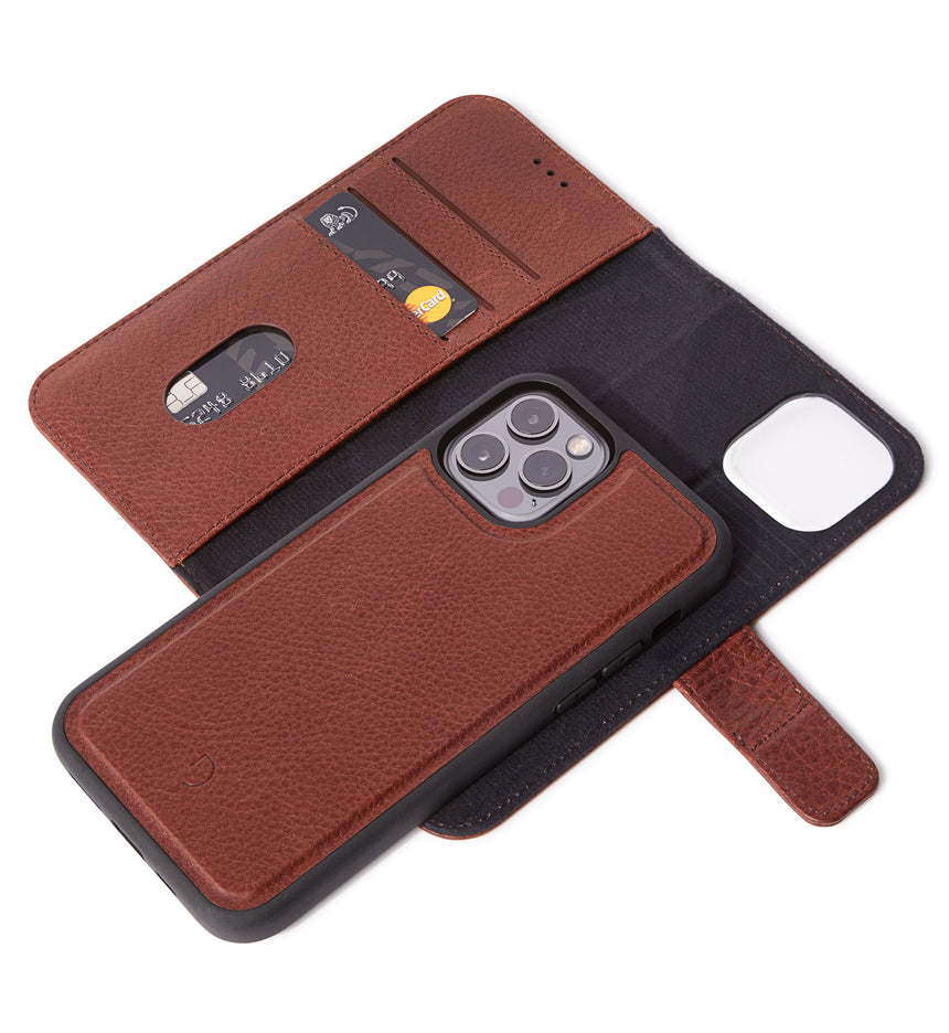 Detachable Wallet Brown - iPhone 12 Pro MagSafe
