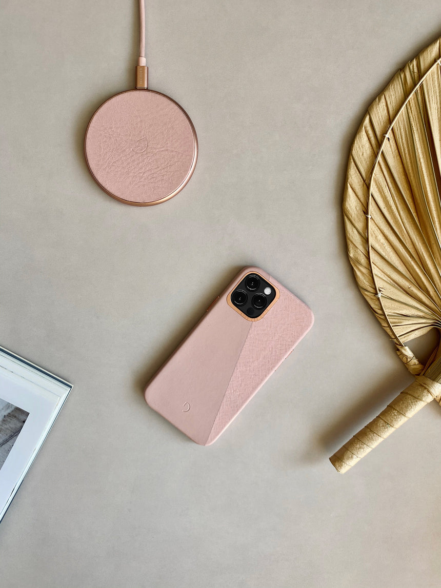 FastPad Wireless Charger Silver Pink / Rose