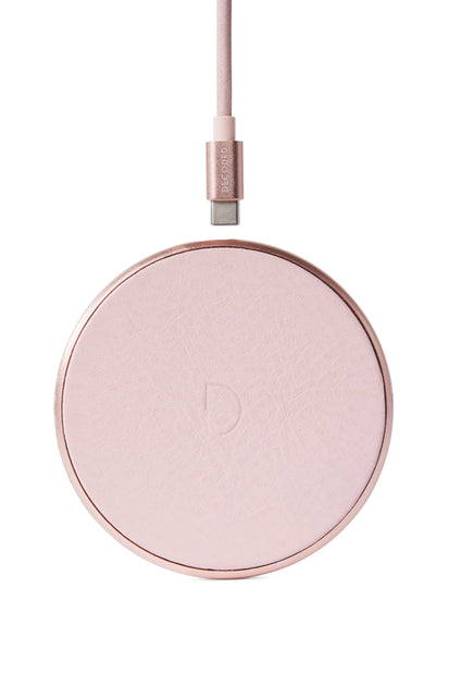 FastPad Wireless Charger Silver Pink / Rose-Wireless Charger-Decoded Bags