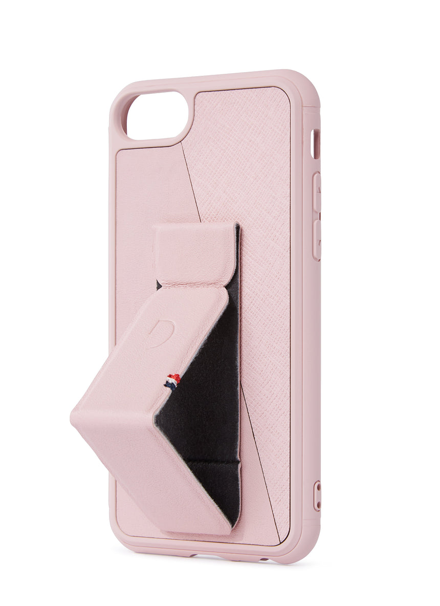 Stand Case Silver Pink - iPhone SE