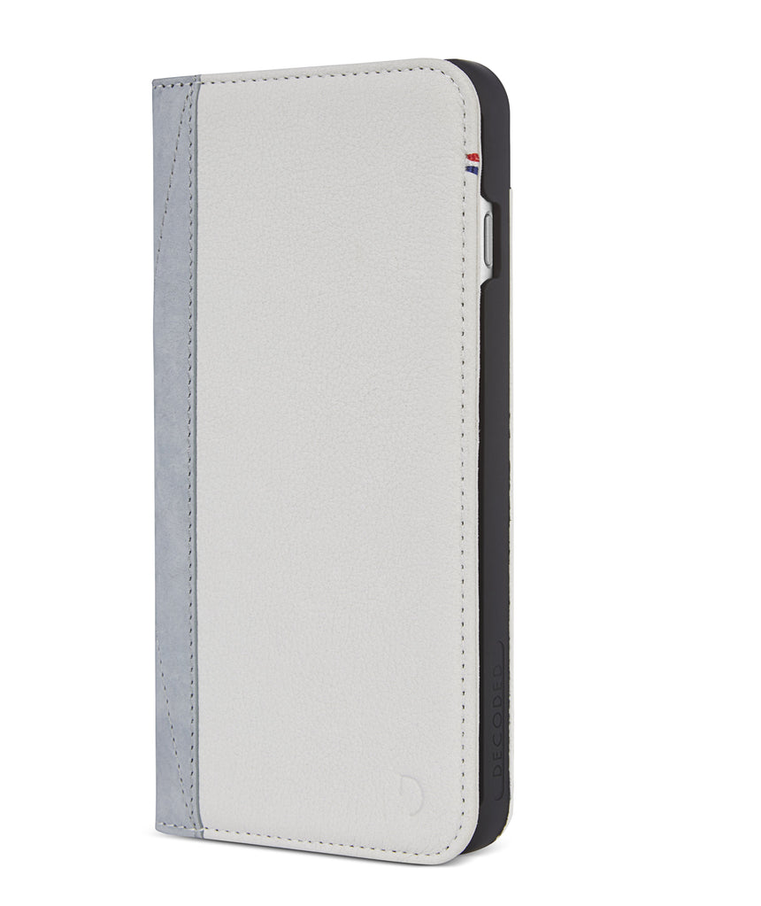 Wallet Case White/Grey - iPhone SE-Wallet Case-Decoded Bags