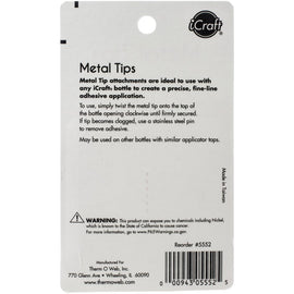 iCraft Metal Tips 2/Pkg (SKU 5552)