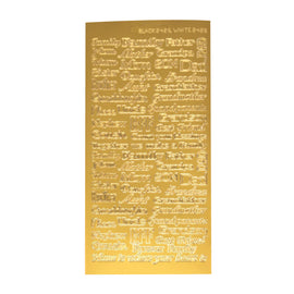 Family and Friends - Gold Sticker AD289400*