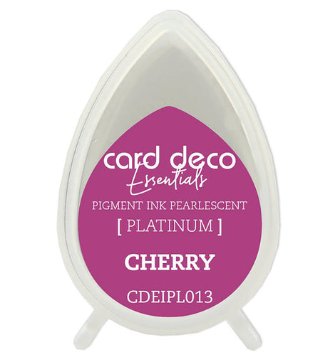Pearlescent Cherry Essentials Fast-Drying Pigment Ink CDEIPL013**