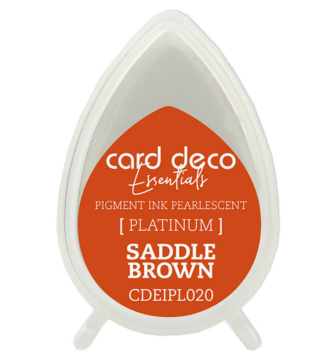 Pearlescent Saddle Brown Essentials Fast-Drying Pigment Ink CDEIPL020**