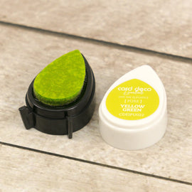 Yellow Green Essentials Fade-Resistant Dye Ink CDEIPU022**