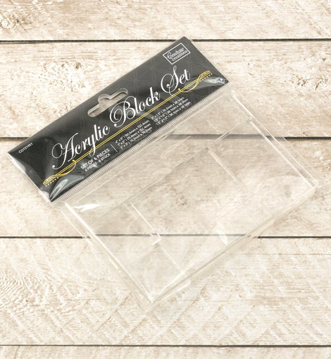 Couture Creations Acrylic Block Set ( 6 Sizes )