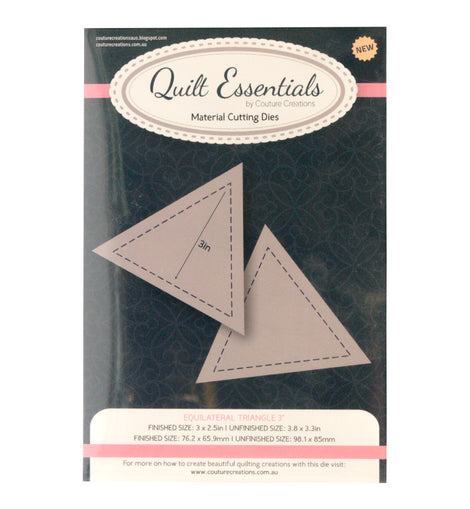 Quilting Equilateral Triangle 3in Die (CO724329)**