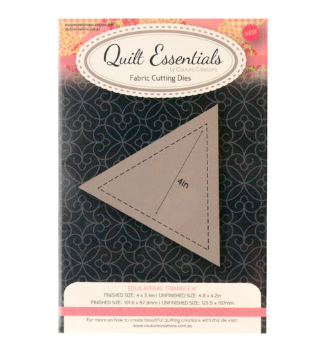 Quilting Equilateral Triangle 4in Die (CO724330)**