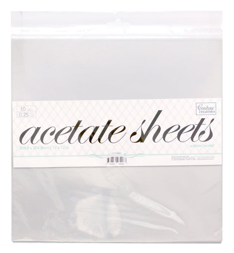 Acetate Sheets CO724603**