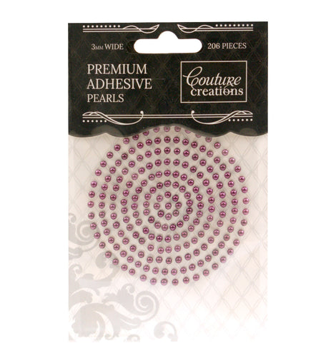 Perfect Plum Adhesive Pearls - CO724637
