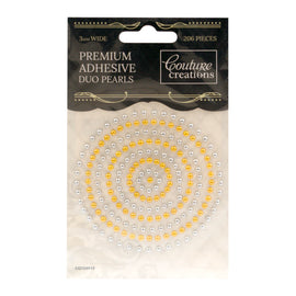 Gold & Silver Adhesive Pearls CO724919*
