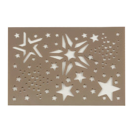 Merry Stars Assortment Stencil CO724930*