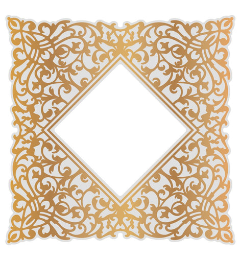 Couture Creations Ornate Background (1pc) Gentlemans Emporium Collection, Cut, Foil & Embossing Die 112mm x 112mm CO726857