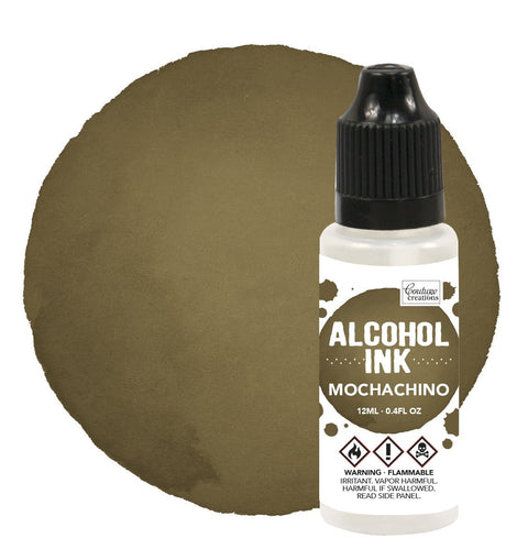 Couture Creations Alcohol Ink Espresso / Mochachino 12ml (0.4fl oz) CO727310