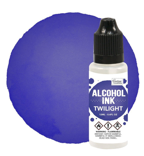 Couture Creations Alcohol Ink Indigo / Twilight 12ml (0.4fl oz) CO727314