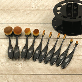10pc Blending Brush Kit with Display Stand CO727348**