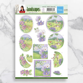 Spring Landscapes 3D Diecut Decoupage CO727743**
