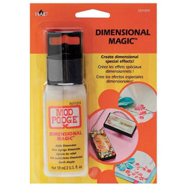 Mod Podge Dimensional Magic In Blister Card (2oz) CS11215