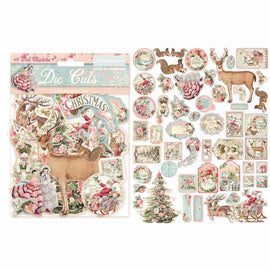 Pink Christmas Assorted Die Cuts (DFLDC15)