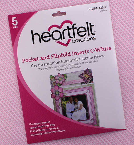 Pocket and Flipfold Inserts C - White