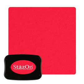 Staz On - Solvent Ink pad - Cherry Pink J7031-081