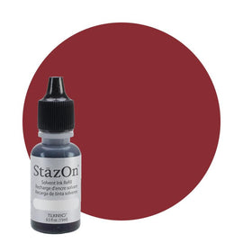 Staz On - Solvent Refill 15ml Claret J7032-023