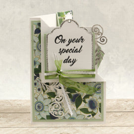 Couture Creations Mini Stamp - Le Petit Jardin - Special Day (1pc) CO725445*