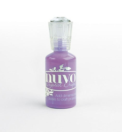 Nuvo Crystal Drops - Crushed Grape NU662