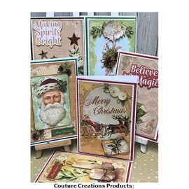 Christmas Cards by Donna Triffitt for Couture Creations