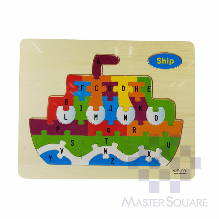 Wooden Puzzle 8153mif-Master Square