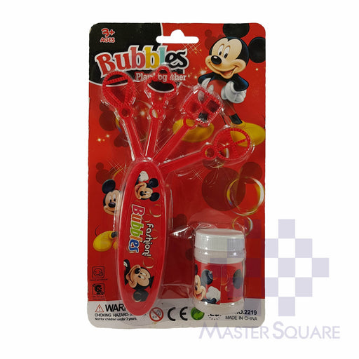 Bubbles Mickey Mouse Red-Master Square