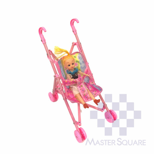 Doll With Stroller-Master Square